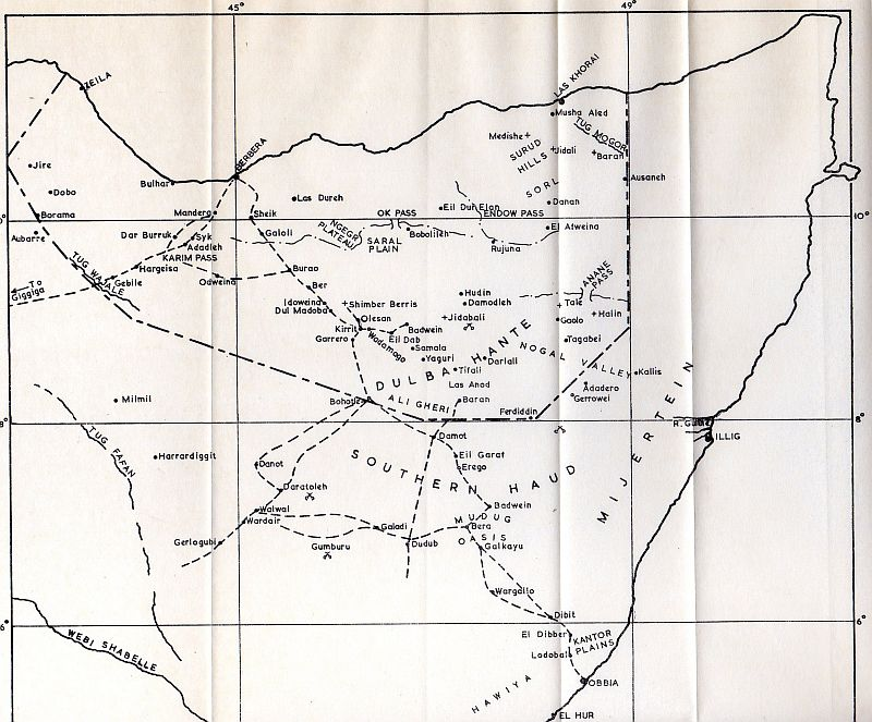 Notes: Military activities in the Somaliland Protectorate from 1905 to 1913